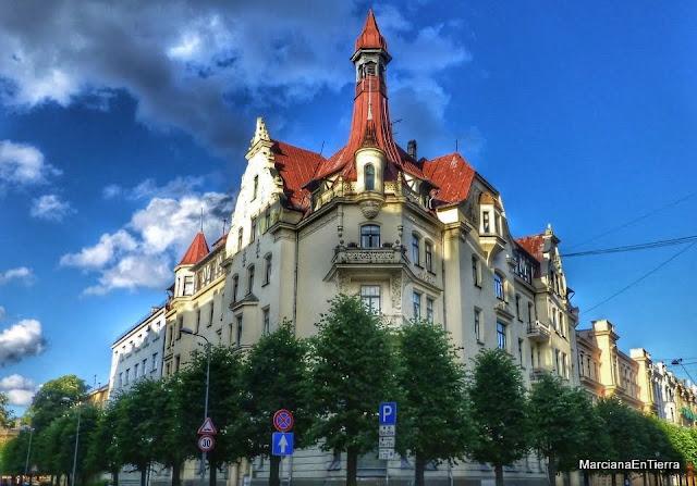 Museo de Art Nouveau, calle Alberta nº 12, Riga