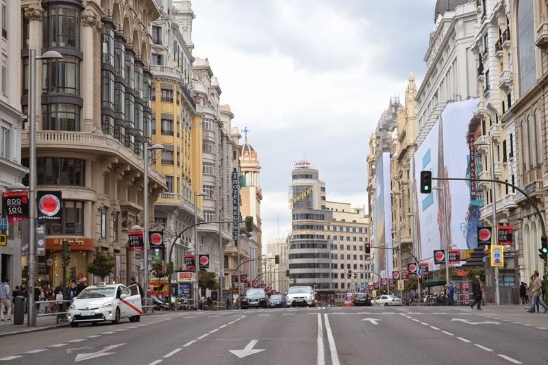 Madrid, espagne, Gran Via