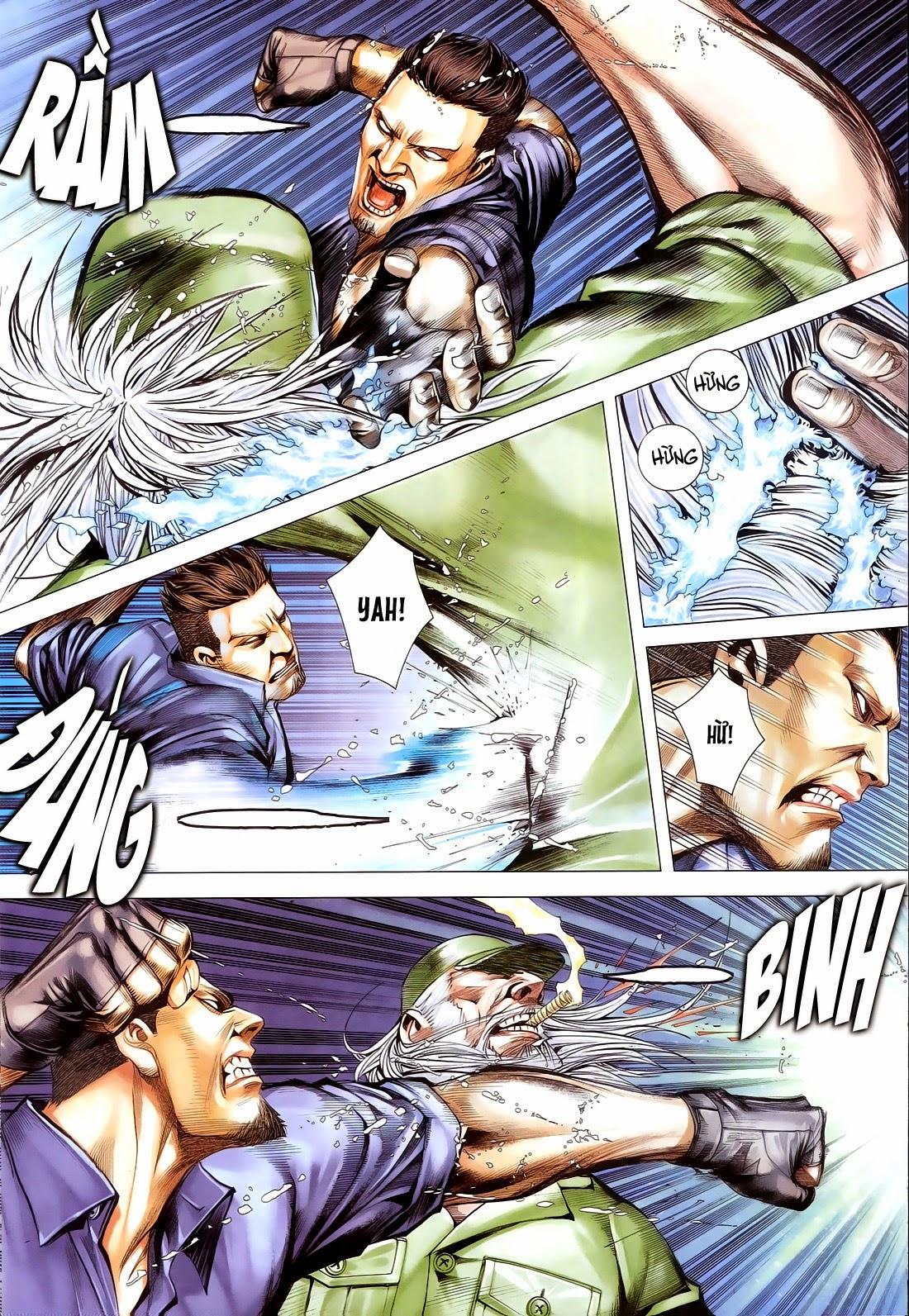 Đại Quân Phiệt chap 14 trang 16