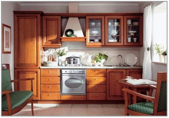 Dapur kayu jati  minimalis