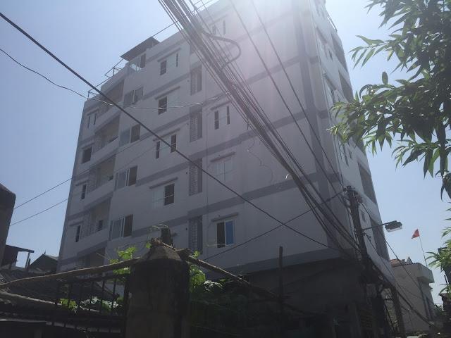 Tòa chung cư mini Nhật Tảo 7 đang bàn giao cho khách hàng về nhận nhà