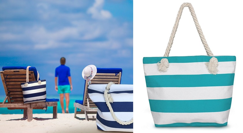 Domette Beach Bags for only $14 (reg $22)