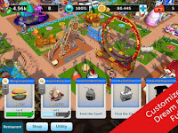 RollerCoaster Tycoon Touch for Android MOD Money v1.4.27