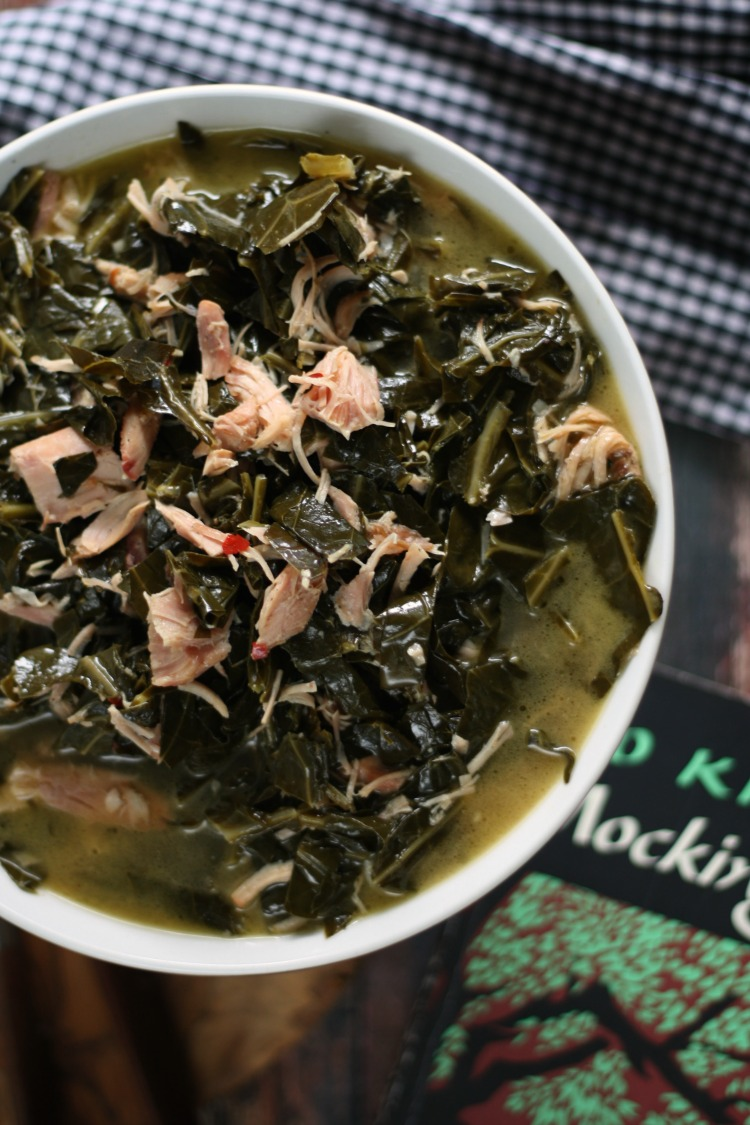 Collard Greens w/ Smoked Turkey Wings | To Kill a Mockingbird #FoodnFlix