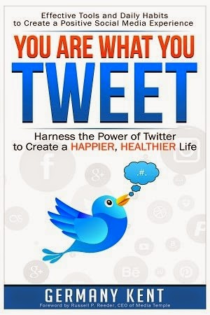 twitter book, how to tweet, you are what you tweet, germany kent