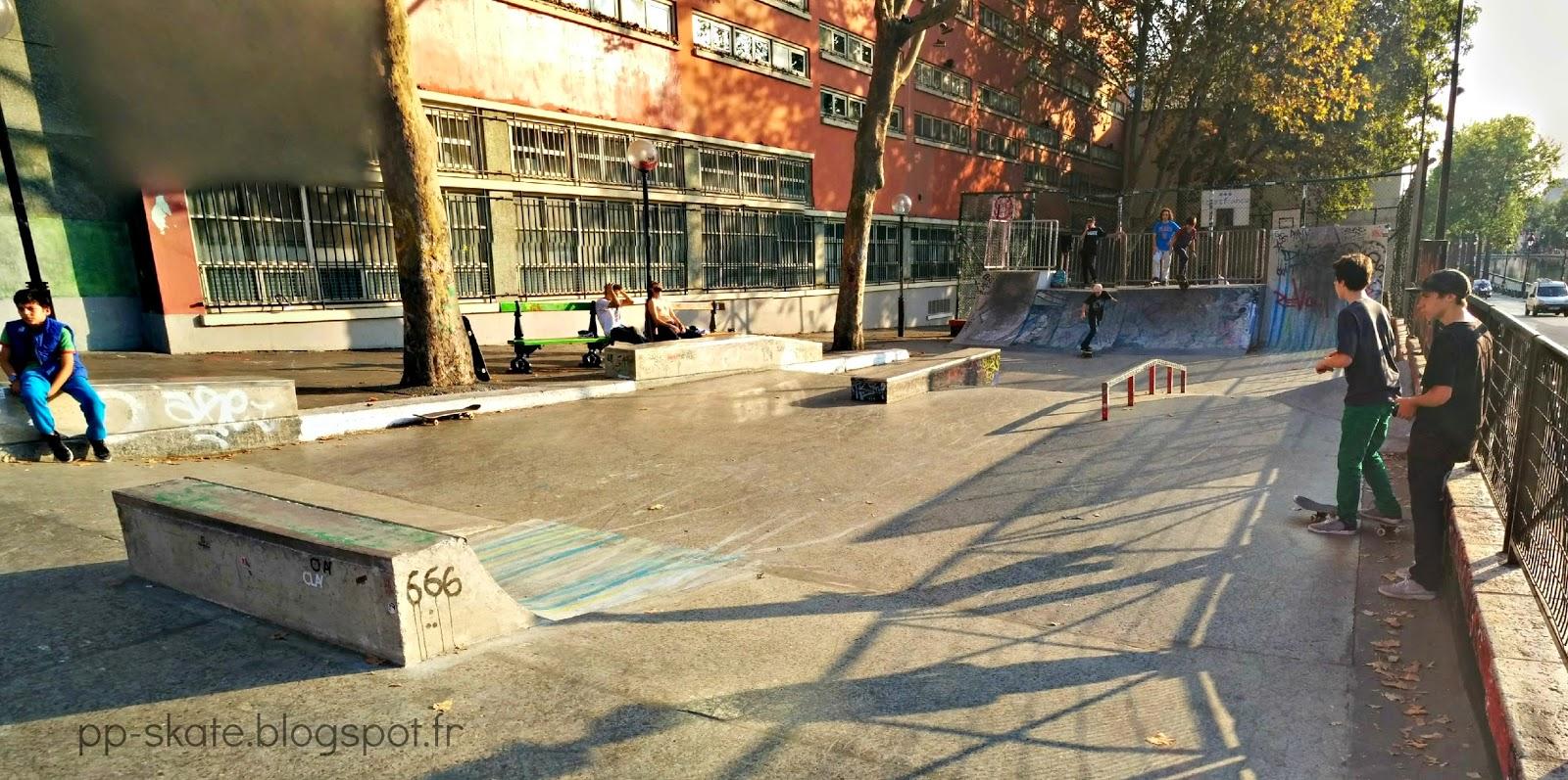 Skatepark Jemmapes nouveau