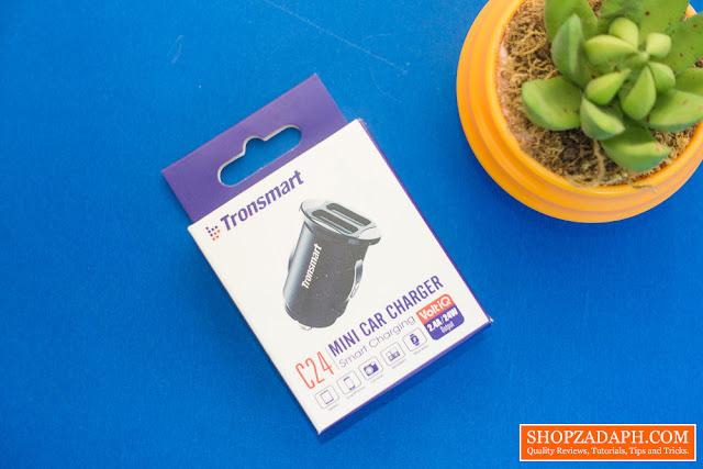 Tronsmart C24 Dual USB Port Car Charger Review