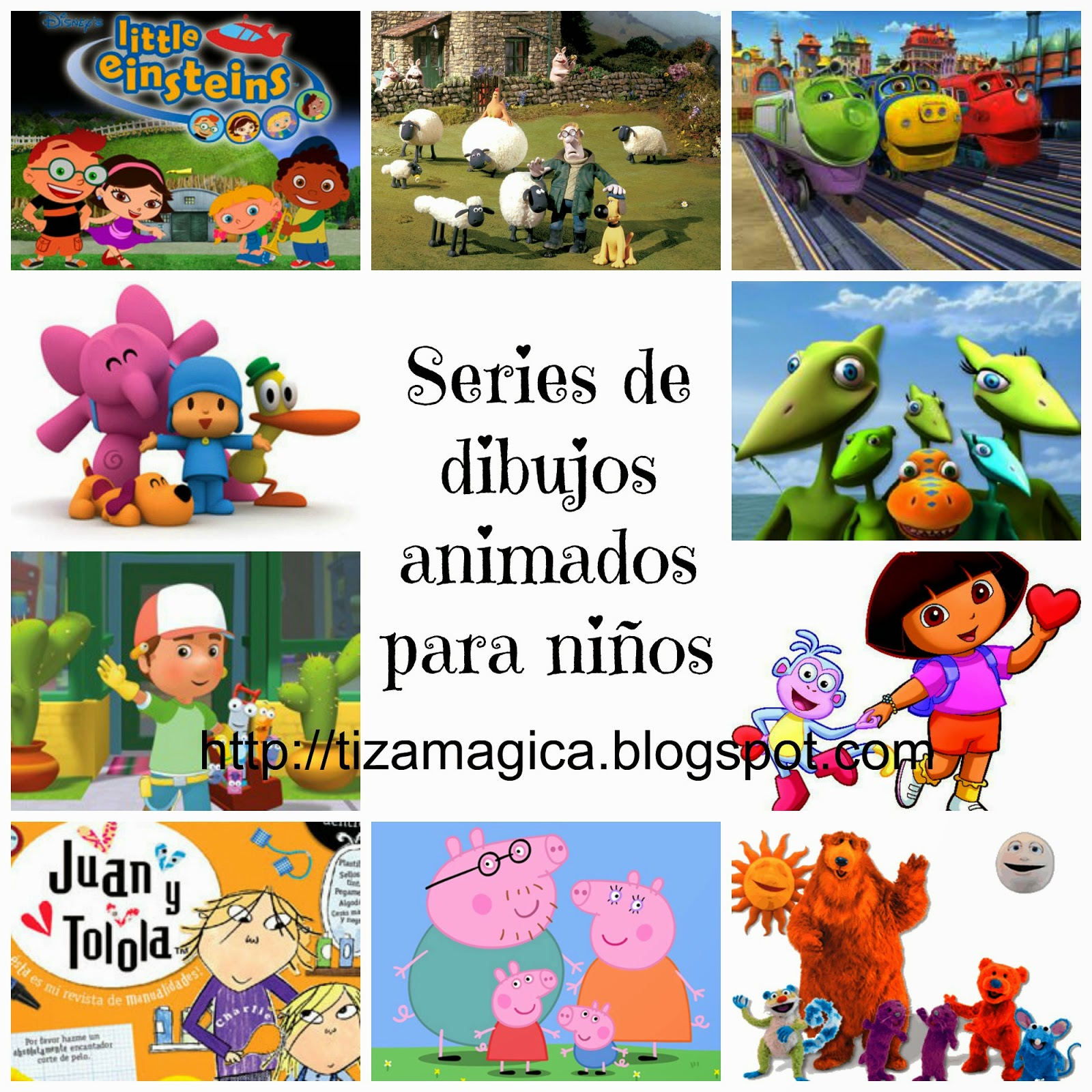 10 series infantiles muy recomendadas