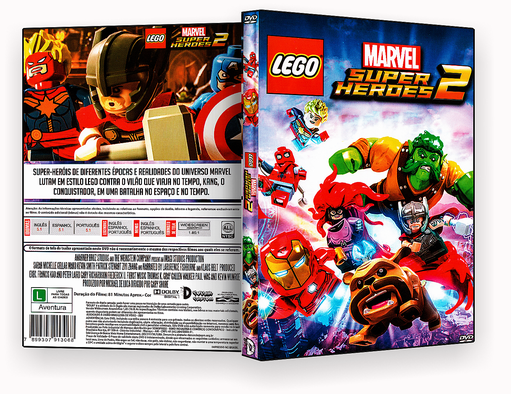MARVEL SUPER HEROES 2 DVD-R