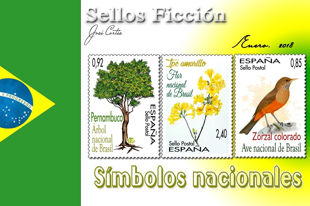 Simbolos Naturales De Brasil | sellos ficci 211 n