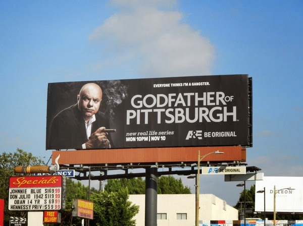 Godfather of Pittsburgh season 1 billboard