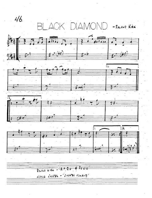Partitura Trompeta Roland Kirk