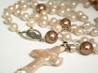 Rosary in Pearls