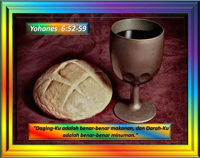 YOHANES 6: 52-59