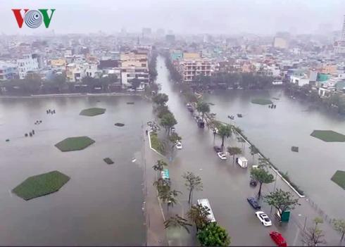 Quảng Ngãi, Quảng Nam tiếp tục mưa lớn