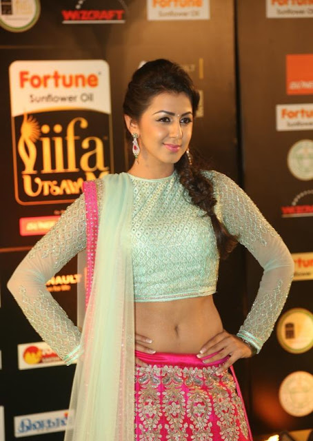 Nikki Galrani Photos at IIFA Utsavam Awards