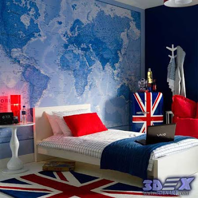 world map wall decor, world map wall art, world map wallpaper for bedroom