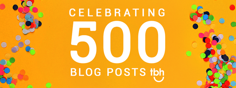 Celebrating 500 blog posts