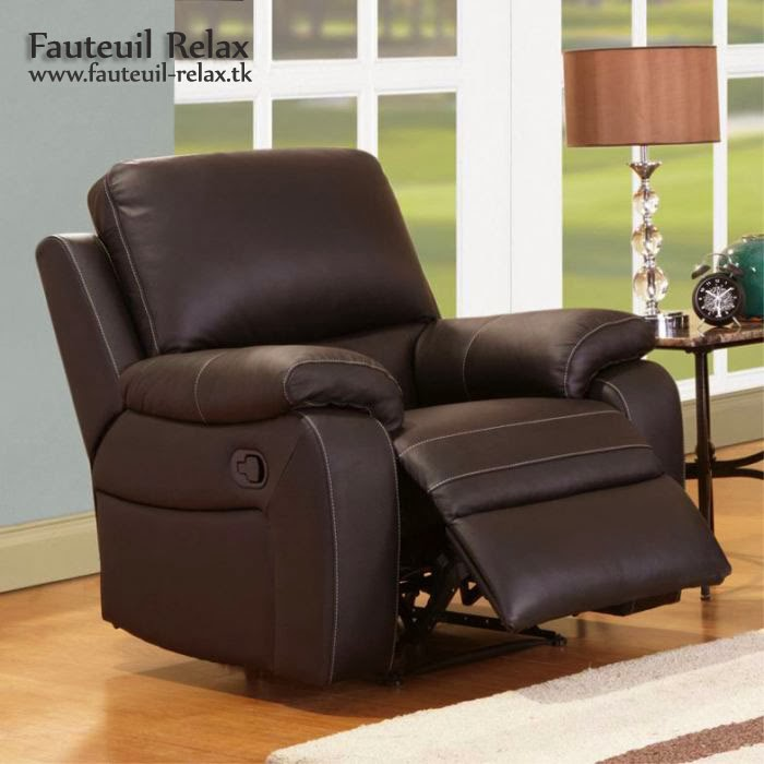 fauteuil relaxation cuir chocolat fauteuil relax. Black Bedroom Furniture Sets. Home Design Ideas