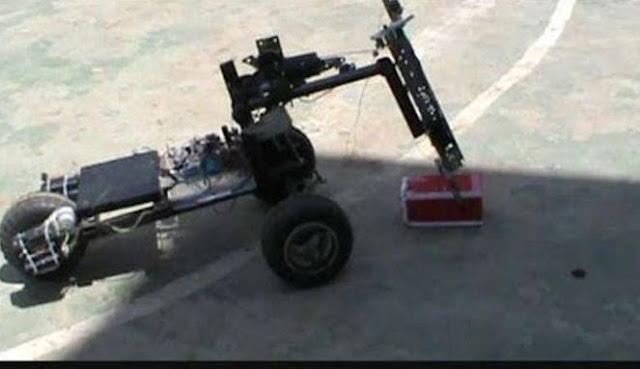 Super Sekali, Robot Penjinak Bom Sukses Diciptakan Oleh Siswa SMK di Sukabumi