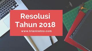 Resolusi Tahun 2018