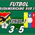 BOLIVIA CAYO ANTE VENEZUELA 5-3: FUTBOL SUDAMERICANO SUB-17