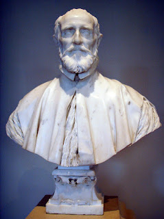 Gian Lorenzo Bernini's bust of  Barberini,  in the National Gallery of Art in Washington