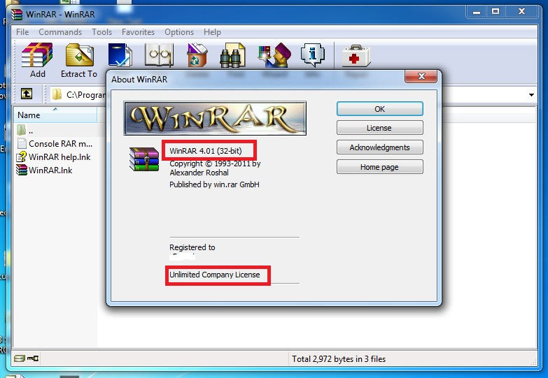 Winrar 4.01 final 32bit and 64bit full lmn8
