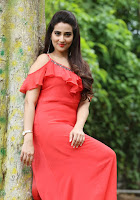 Manjusha Latest Stillls at Kurukshetram Teaser Launch TollywoodBlog