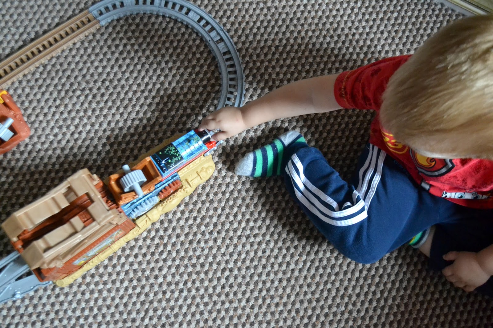 Life Through My Eyes Review Thomas Friends Trackmaster