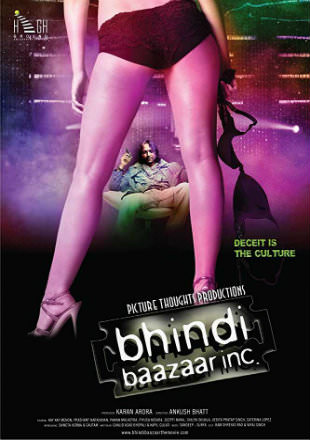 Poster of Bhindi Baazaar Inc 2011 Full Hindi Movie Download HDRip 720p