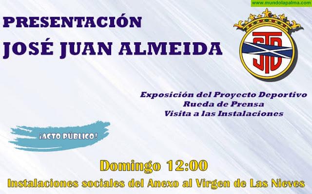 El Tenisca presentará el domingo a José Juan Almeida como nuevo técnico