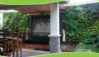 Taman Vertikal | Vertical Garden | www.tukangtamanbanjarmasin.com