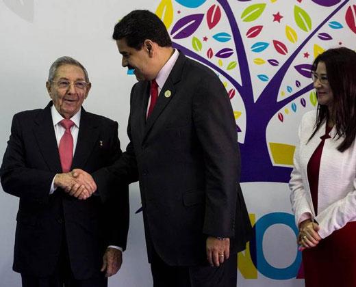 """Maduro denuncia """"arremetida global"""" contra Venezuela"""