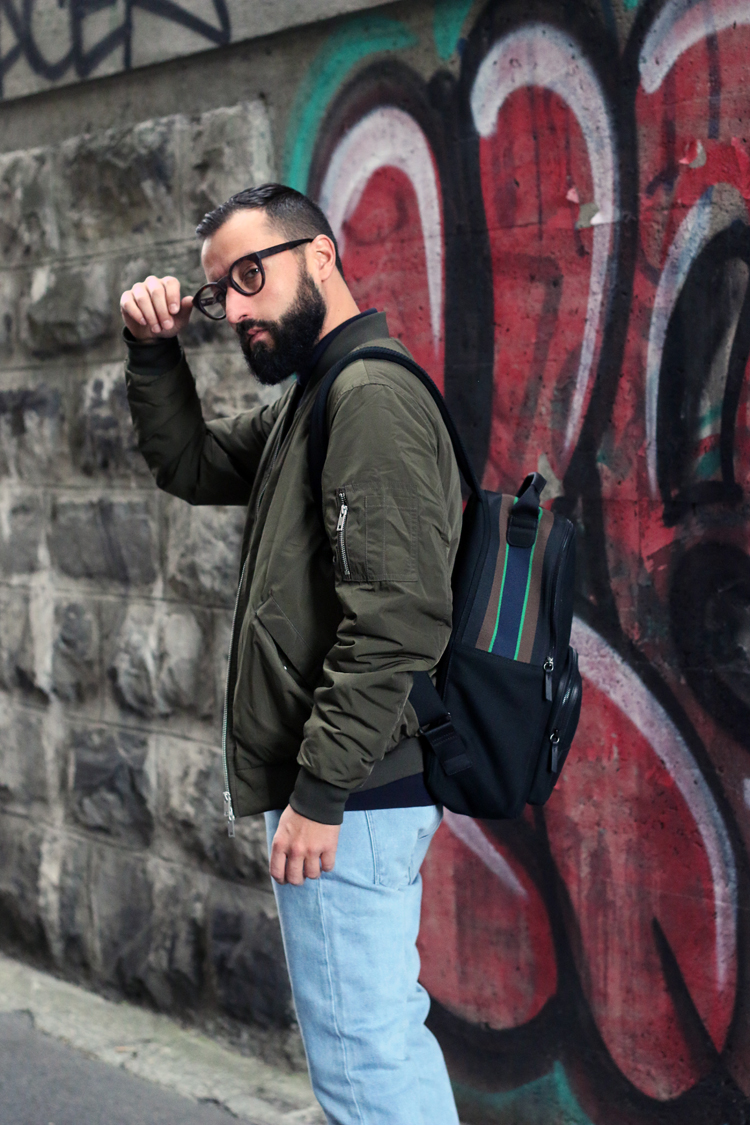 pullandbear, notanitboy, swiss, fashion, clobber, blog, men, homme, streetstyle, bombers, viu, adidas, longchamps, backpack,
