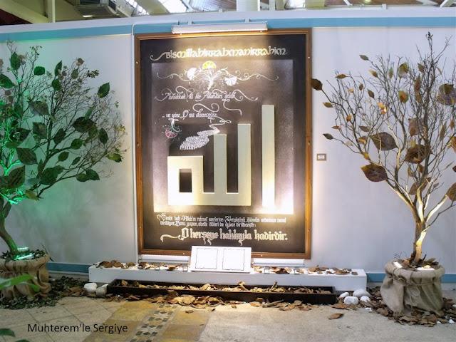 kaligrafi sergisi