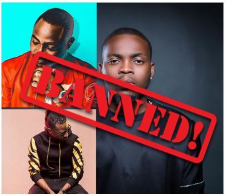 NBC Bans Olamide's Wo & Wavy Level, Davido's IF & Fall And 9ice's Living Things (See Full List)