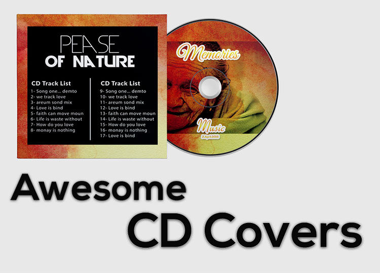 25 excellent free cd dvd covers mockup psd music theory