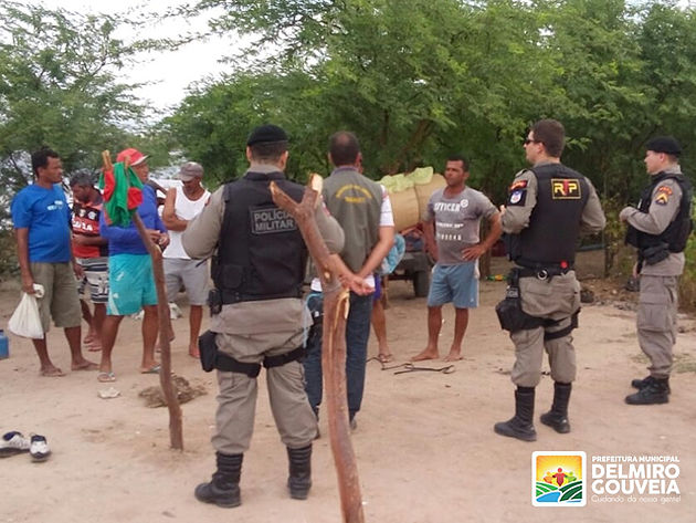Em Delmiro Gouveia,  Secretaria de Meio Ambiente e Polícia Militar realizam fiscalização no Açude do DNOCS