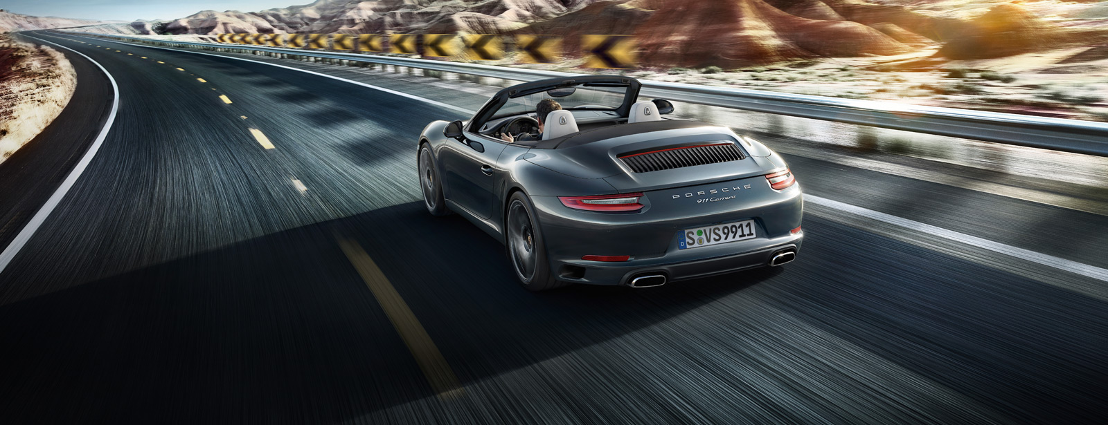 Porsche The new 911 Carrera Cabriolet