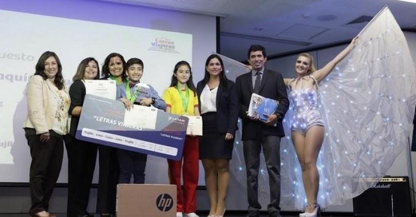 Escolar de Trujillo escribe el mejor cuento orientado a fomentar la identidad y los valores turísticos - www.mincetur.gob.pe
