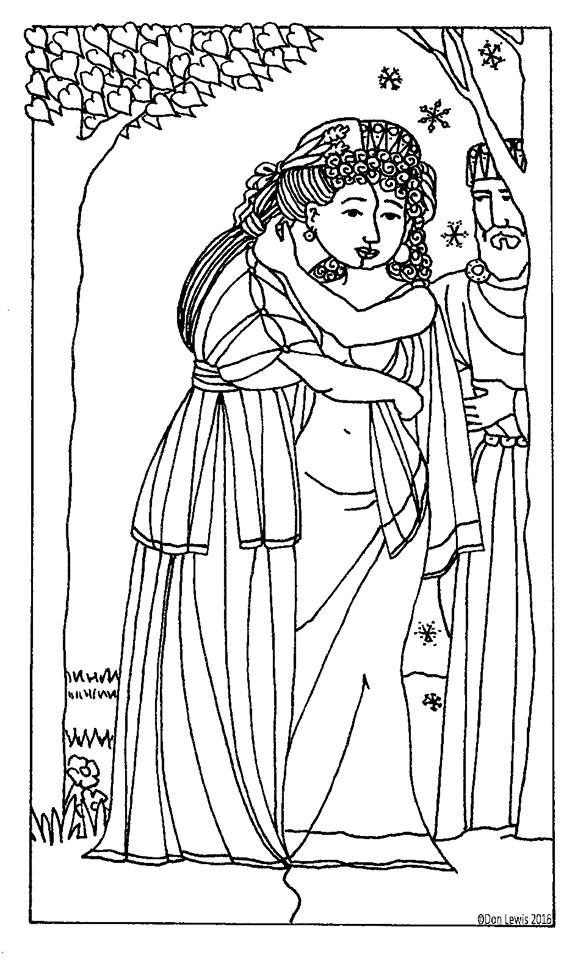 The White Raven: Persephone & Demeter
