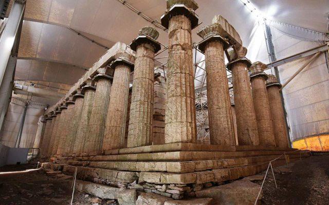 Στο έλεος φύσης και κράτους ο ναός του Επικούριου Απόλλωνα