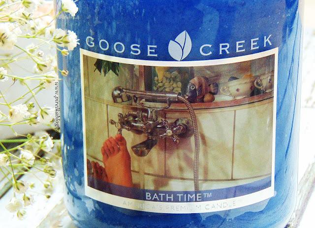 Świeca zapachowa Goose Creek 'Bath Time'