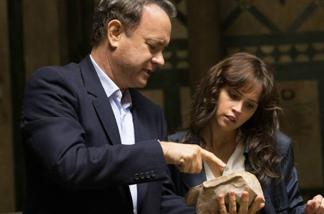 Inferno com Tom Hanks e Felicity Jones: eu vi