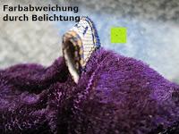 Etikett: Haargummi aus Velveteen, gemischte Farben, 25mm breit, 7 Stücke/Packung