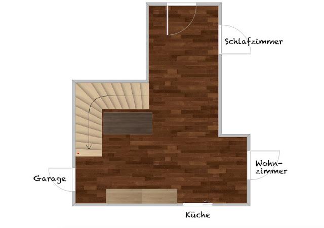 hochwertige baustoffe laminat verlegen flur richtung. Black Bedroom Furniture Sets. Home Design Ideas