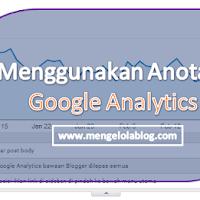 Menggunakan anotasi Google Analytics untuk mencatat eksperimen