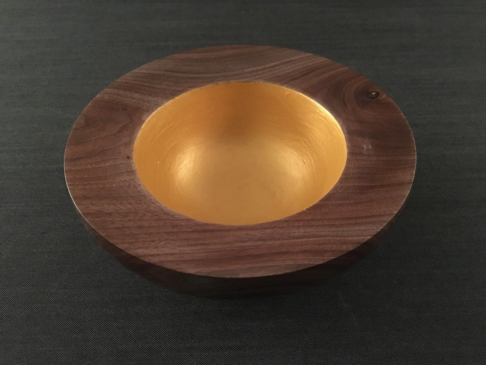 atelier du bois tourn woodturning design vide poches en noyer noir blackwalnut bowl. Black Bedroom Furniture Sets. Home Design Ideas