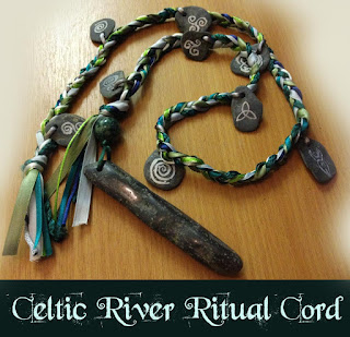 Celtic River Ritual Cord from Moonscrafts